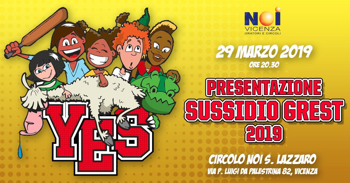 Presentazione Sussidio Grest 2019