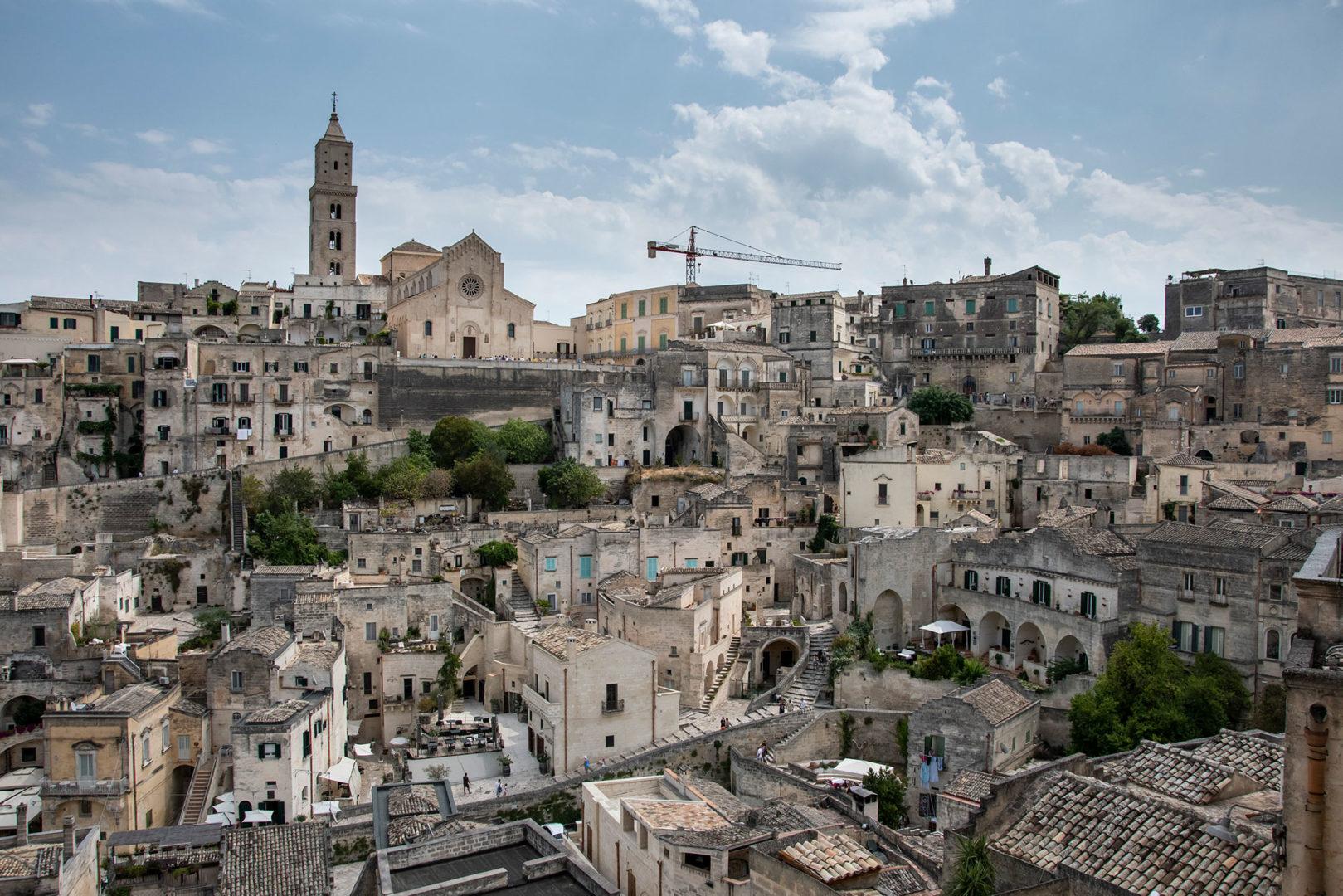 Panorama di Matera - Foto di Marco Sinico